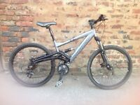 Saracen raw2 full sus mountain bike in good order