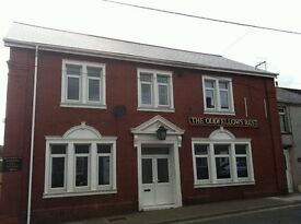 Three bedroom first floor flat, Bridgend Road, Maesteg