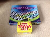 Board Game Wordsearch and Kids' Trivia
