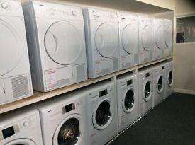 Washing machine new & graded 12 mth gtee