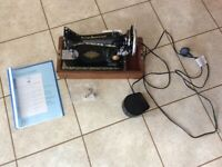 Vintage style Singer electric sewing machine Class 99