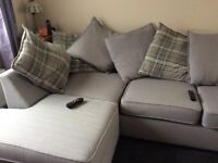 As new corner sofa, bought in march this year but selling due to mobility problems