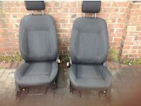 Ford Fiesta TITAINIUM X front seats (pair)
