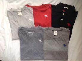 Abercrombie bundle of t shirts age 14