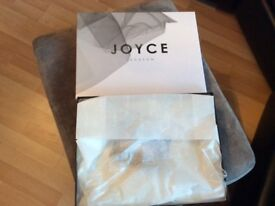 Joyce Jackson Catherdral Length Veil with Scattered Crystal Edging