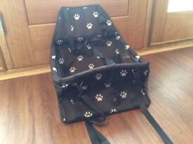Puppy/small dog car seat/bed