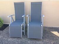 Recliner chairs x 2 Argos 'Malibu' range