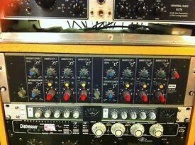 K&H UE-400, Klein & Hummel, rare mid 70's German mastering equaliser, super smooth