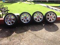 Set of 17inch Honda Civic alloys