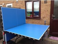 Table tennis table and accessories at bargain price