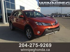 2015 Toyota Rav4 XLE AWD. Local lease return, One owner, Low ki