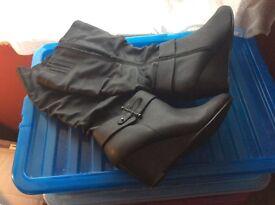 Large calves boots