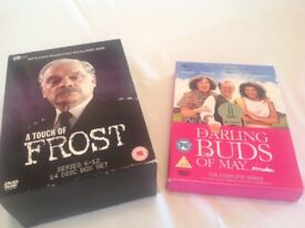 A TOUCH OF FROST SERIES 6-12 box set plus DARLING BUDS OF MAY COMPLETE SERIES