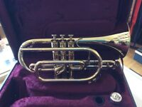 A Superb Besson 700 series cornet including case.