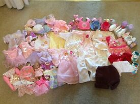 Dolls clothes and accessories