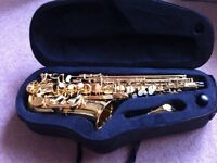 Trevor James Alto Saxophone. Excellent condition, Used once.