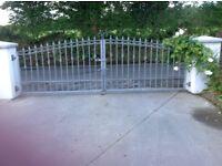 Galvanised gates