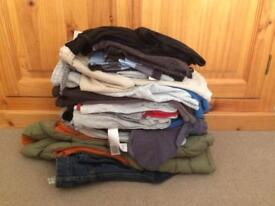 Large bundle of boys clothes - approx age 9-10 years, shorts, t-shirts, joggers plus more