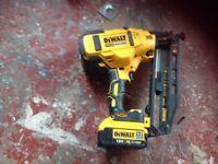 Dewalt finishing nail gun latest model