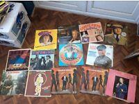 Comedy vinyl LPs 13 in total