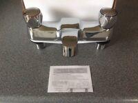 Brand New Deck Mounted Chrome Bath taps