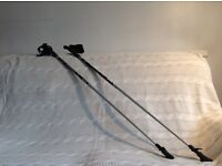 """Nordic Walking Poles. As new, used only once. Suit male or female around 5'4"""" /5'5""""."""