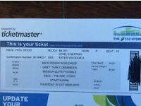 Gary Tank Commander Tickets at the Hydro Glasgow