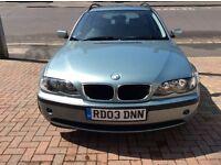 BMW series 3 tourer 2003 auto