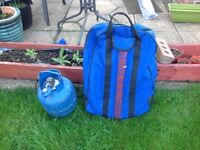 Portable gas BBQ as new in carry bag.