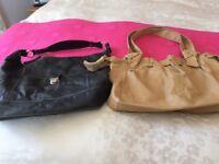 Three great soft good quality leather ladies handbags