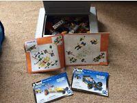 Kinex and lego sets