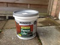 Ron seal Fence Life