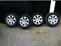 Citroen Berlingo or Peugeot Partner Alloy wheels