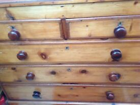 Victorian chest of draws
