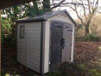 Storage shed 187 L x 240 W
