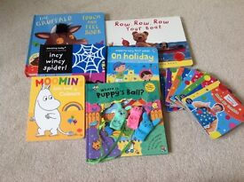 12 Excellent condition baby books