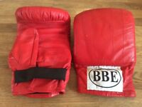 BBE Adult Red Boxing Gloves