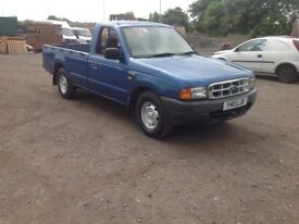 Ford ranger2.5 td 2 wheel drive single cab 2001 y reg