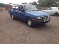 Ford ranger2.5 td 2 wheel drive single cab 2001 y reg