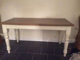 Kitchen pine table used