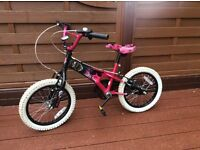 Girls bikes x 2 for sale. 20inch and 16inch