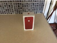 ++ IPHONE 7 ++ 256gb +++ LIMITED EDITION ( RED )