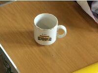 Mug with car and name 'lee'