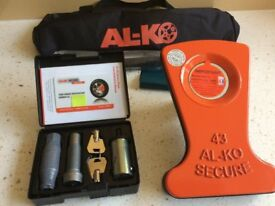 ALKO Al-ko Caravan Wheel Lock No 43. Brand New/Unused/Unregistered