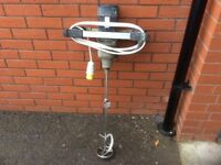 Refina Megamixer Plasterers tool 110 volt with new paddle. Can be seen working