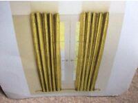 Door curtain plus matching material