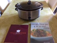Large capacity slow cooker