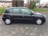 RENAULT CLIO 1.2 EXPRESSION 55 REG FULL 12 MONTHS MOT LOW MILEAGE
