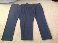 2 NEW pair of Ladies M&S Per Una Jeans.