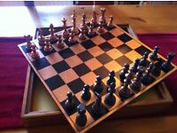 Copper Chess Set - boxed - made by Royal Sable - Made in Zimbabwe